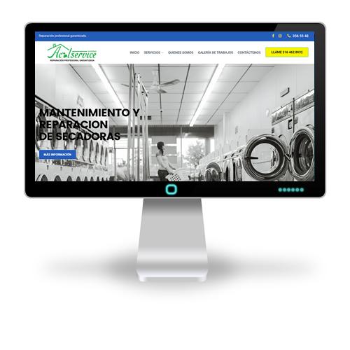 sitio web de Acolservice