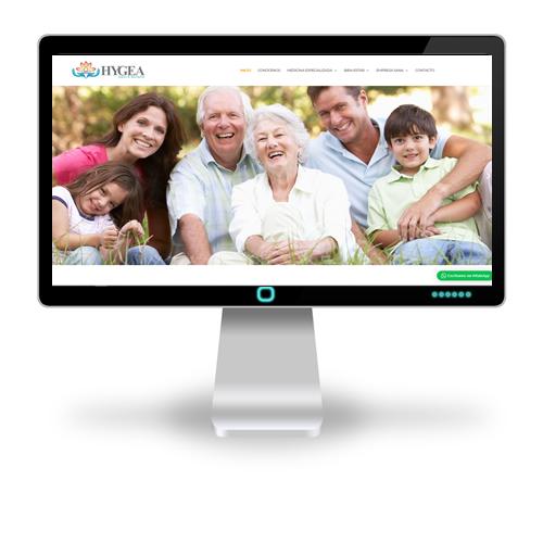 sitio web de Hygea Salud y Bienestar