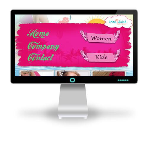Pagina web Irina Salah
