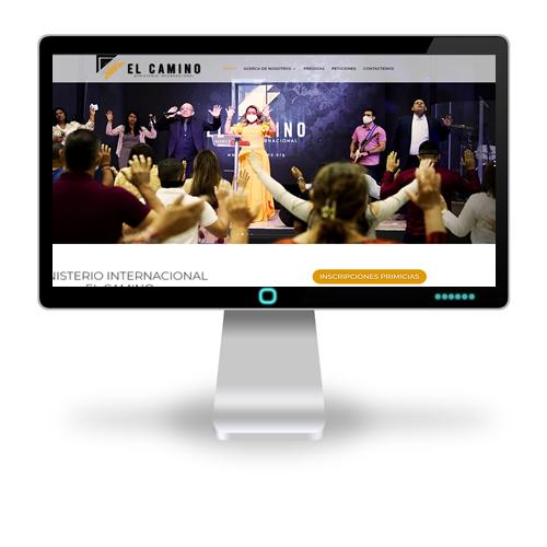 sitio web de Ministerio Internacional El Camino