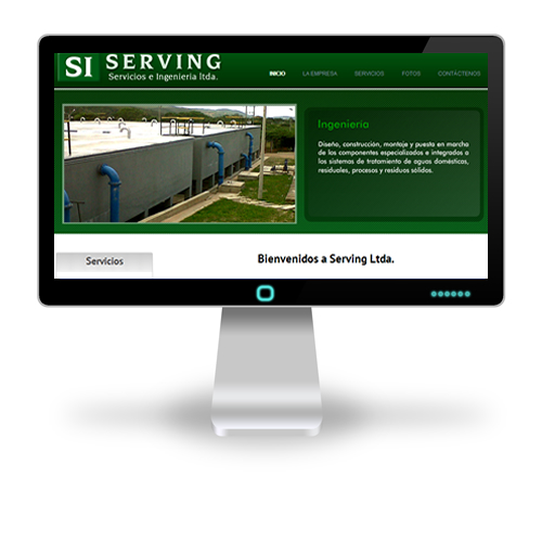 Pagina web Serving